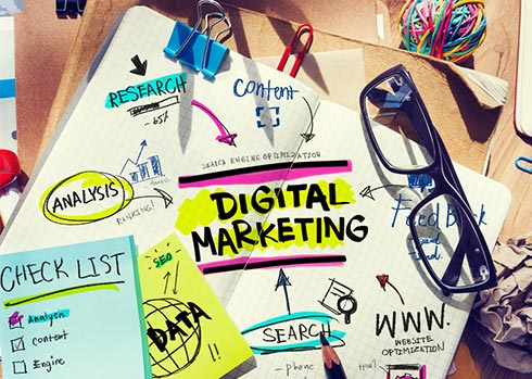 What we do : Online Marketing